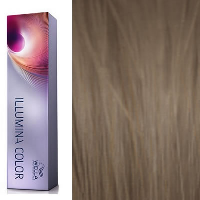 wella coloration illumina color 781 blond moyen perle cendre 60 ml oxydant offert - Coloration Blond Perle