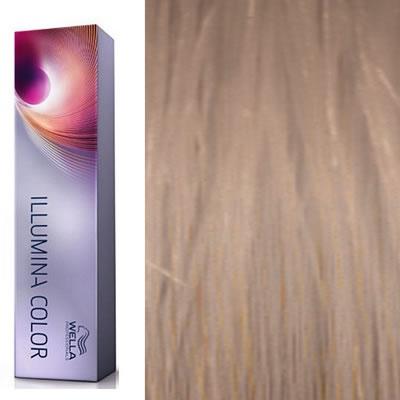 wella coloration illumina color 960 blond trs clair naturel violet naturel 60 ml oxydant offert - Coloration 60