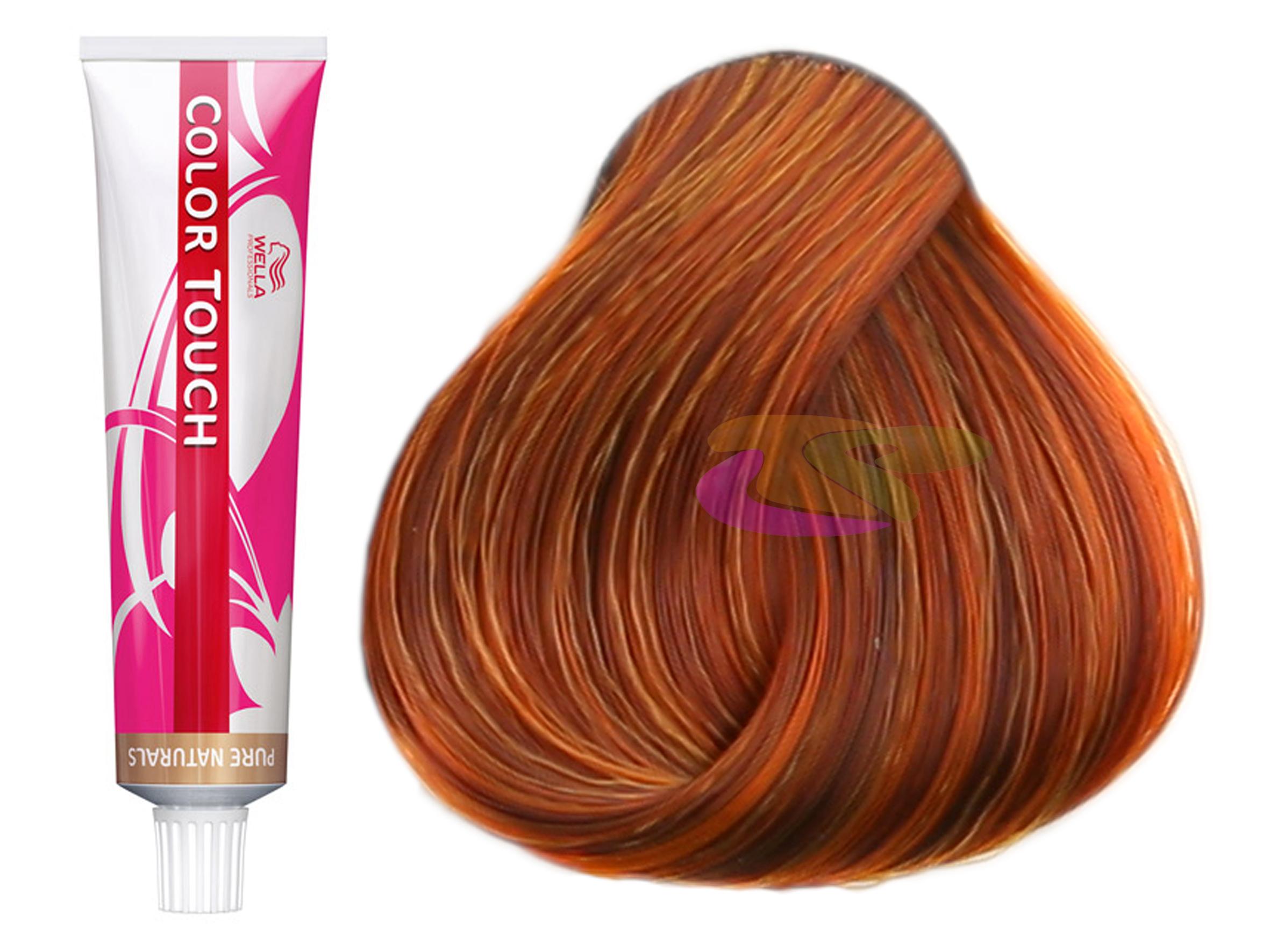 wella bain de couleur semi permanente color touch vibrant reds 743 de 60 - Color Touch Wella Mode D Emploi