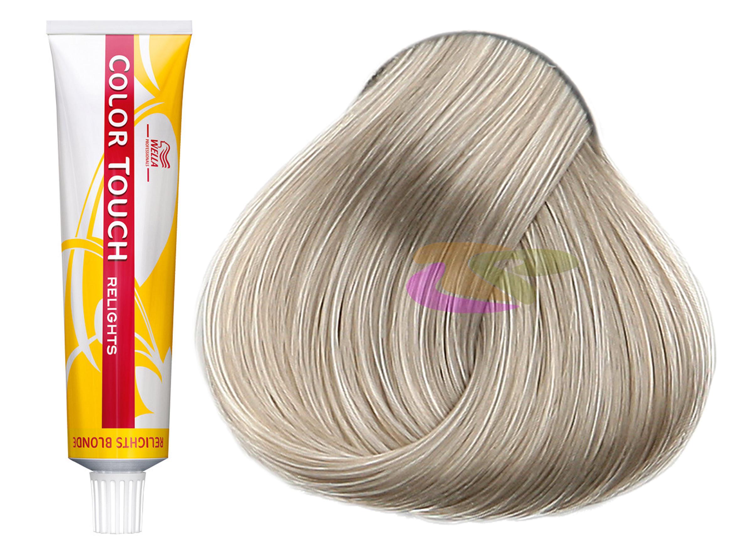 wella bain de couleur nuanceur de mches semi permanente color touch relights blonde - Color Touch Wella Mode D Emploi