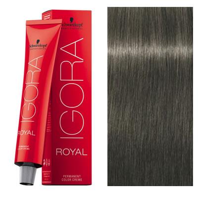 schwarzkopf coloration igora royal mettallics 632 blond fume mat 60 ml oxydant - Igora Coloration