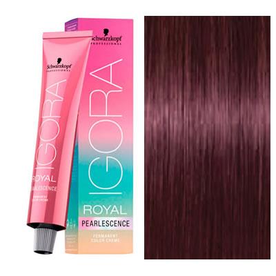 schwarzkopf coloration igora royal pearlescence p689 blond fonc magenta 60 ml oxydant - Coloration Cheveux Magenta