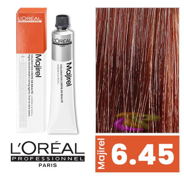 L`Oréal- Coloration MAJIREL 6.45 Blond Foncé Cuivré Acajou