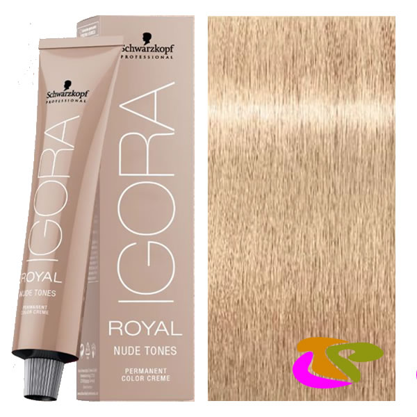 schwarzkopf teinte igora royal brown beige fonc nude 1246 superlift 60 ml - Coloration Cheveux Sans Ammoniaque Et Sans Oxydant